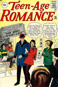 Cover Thumbnail for Teen-Age Romance (Marvel, 1960 series) #85