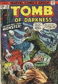 Cover Thumbnail for Tomb of Darkness (Marvel, 1974 series) #10
