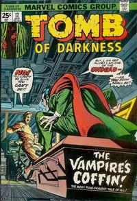 Cover Thumbnail for Tomb of Darkness (Marvel, 1974 series) #12