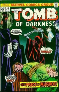 Cover Thumbnail for Tomb of Darkness (Marvel, 1974 series) #13