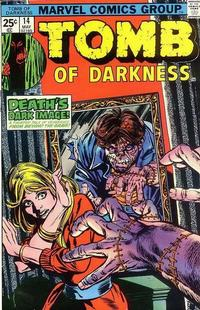 Cover Thumbnail for Tomb of Darkness (Marvel, 1974 series) #14