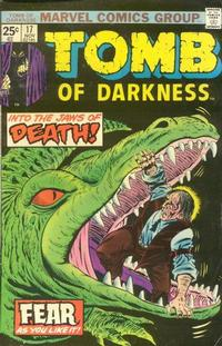 Cover Thumbnail for Tomb of Darkness (Marvel, 1974 series) #17