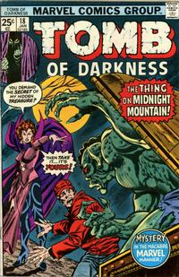 Cover Thumbnail for Tomb of Darkness (Marvel, 1974 series) #18