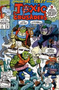 Cover Thumbnail for Toxic Crusaders (Marvel, 1992 series) #4 [Direct]