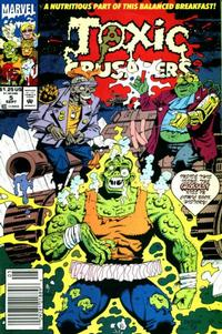 Cover Thumbnail for Toxic Crusaders (Marvel, 1992 series) #5