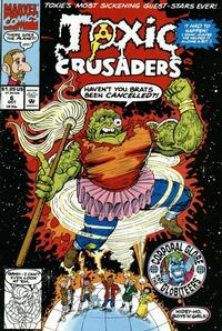 Cover Thumbnail for Toxic Crusaders (Marvel, 1992 series) #6 [Direct]