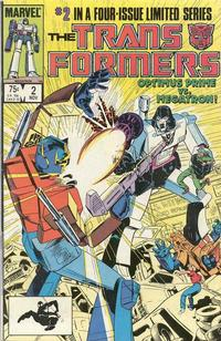 Cover Thumbnail for The Transformers (Marvel, 1984 series) #2 [Direct Edition]