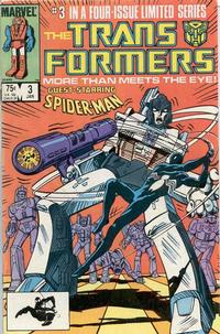 Cover Thumbnail for The Transformers (Marvel, 1984 series) #3 [Direct Edition]