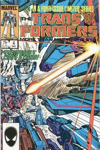 Cover for The Transformers (Marvel, 1984 series) #4 [Direct Edition]