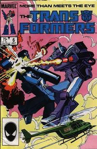 Cover Thumbnail for The Transformers (Marvel, 1984 series) #6 [Direct Edition]