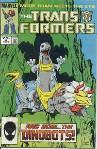 Cover Thumbnail for The Transformers (Marvel, 1984 series) #8 [2nd Print]