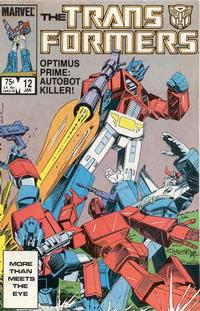 Cover Thumbnail for The Transformers (Marvel, 1984 series) #12 [Direct Edition]