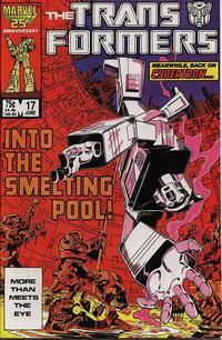 Cover Thumbnail for The Transformers (Marvel, 1984 series) #17 [Direct Edition]