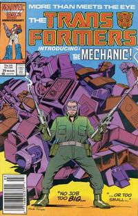 Cover Thumbnail for The Transformers (Marvel, 1984 series) #26 [Newsstand]