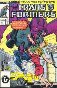 Cover Thumbnail for The Transformers (Marvel, 1984 series) #31 [Direct]