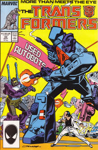 Cover Thumbnail for The Transformers (Marvel, 1984 series) #32 [Direct]