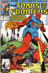Cover Thumbnail for The Transformers (Marvel, 1984 series) #33 [Direct Edition]