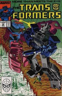 Cover Thumbnail for The Transformers (Marvel, 1984 series) #38 [Direct]