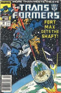 Cover Thumbnail for The Transformers (Marvel, 1984 series) #39 [Newsstand]