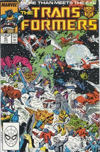 Cover Thumbnail for The Transformers (Marvel, 1984 series) #41 [Direct]