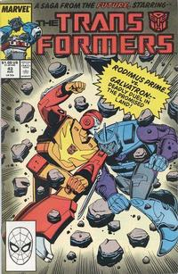 Cover Thumbnail for The Transformers (Marvel, 1984 series) #43 [Direct]
