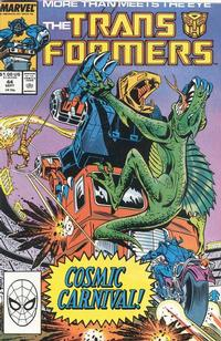 Cover Thumbnail for The Transformers (Marvel, 1984 series) #44 [Direct]