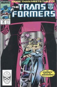 Cover Thumbnail for The Transformers (Marvel, 1984 series) #46