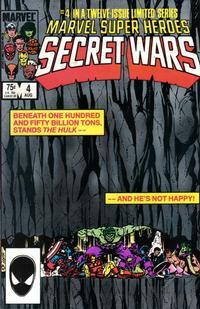 Cover Thumbnail for Marvel Super-Heroes Secret Wars (Marvel, 1984 series) #4 [Direct]