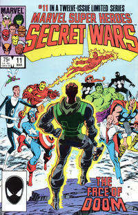 Cover Thumbnail for Marvel Super-Heroes Secret Wars (Marvel, 1984 series) #11 [Direct Edition]