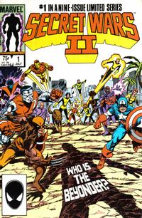Cover Thumbnail for Secret Wars II (Marvel, 1985 series) #1 [Direct]