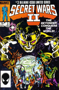 Cover Thumbnail for Secret Wars II (Marvel, 1985 series) #3