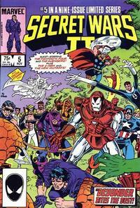 Cover Thumbnail for Secret Wars II (Marvel, 1985 series) #5