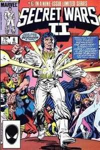 Cover Thumbnail for Secret Wars II (Marvel, 1985 series) #6 [Direct]