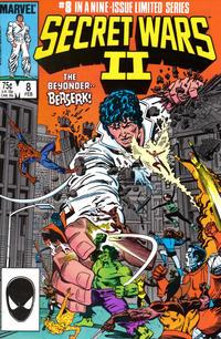 Cover Thumbnail for Secret Wars II (Marvel, 1985 series) #8 [Direct]