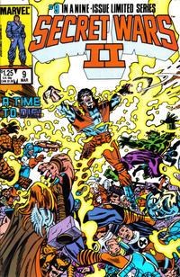 Cover Thumbnail for Secret Wars II (Marvel, 1985 series) #9