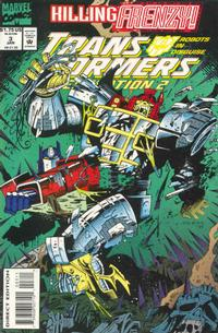 Cover Thumbnail for Transformers: Generation 2 (Marvel, 1993 series) #3 [Direct Edition]