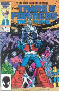 Cover Thumbnail for Transformers: The Movie (Marvel, 1986 series) #1 [Direct Edition]