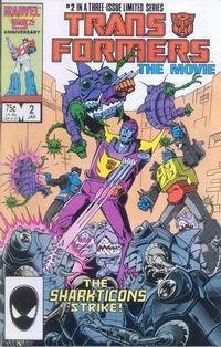 Cover Thumbnail for Transformers: The Movie (Marvel, 1986 series) #2