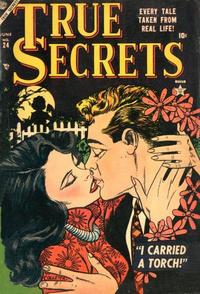 Cover Thumbnail for True Secrets (Marvel, 1950 series) #24