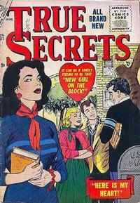 Cover Thumbnail for True Secrets (Marvel, 1950 series) #31