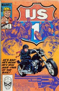 Cover Thumbnail for U.S. 1 (Marvel, 1983 series) #6