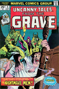 Cover Thumbnail for Uncanny Tales (Marvel, 1973 series) #9