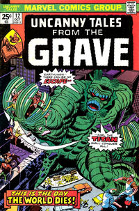 Cover Thumbnail for Uncanny Tales (Marvel, 1973 series) #12