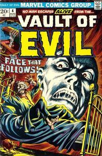 Cover Thumbnail for Vault of Evil (Marvel, 1973 series) #4