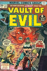 Cover Thumbnail for Vault of Evil (Marvel, 1973 series) #13