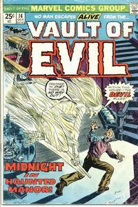 Cover Thumbnail for Vault of Evil (Marvel, 1973 series) #14