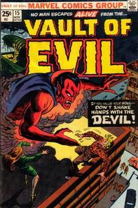 Cover Thumbnail for Vault of Evil (Marvel, 1973 series) #15