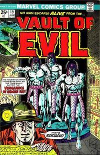 Cover Thumbnail for Vault of Evil (Marvel, 1973 series) #19