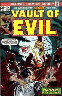 Cover Thumbnail for Vault of Evil (Marvel, 1973 series) #20