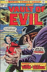Cover Thumbnail for Vault of Evil (Marvel, 1973 series) #21